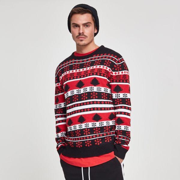 Weihnachtsbaum Sweater von Urban Classics