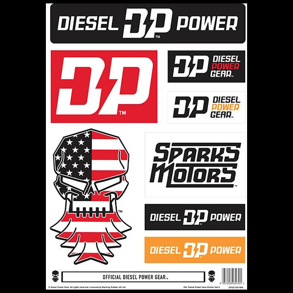 Diesel Power Gear Aufkleber-Set