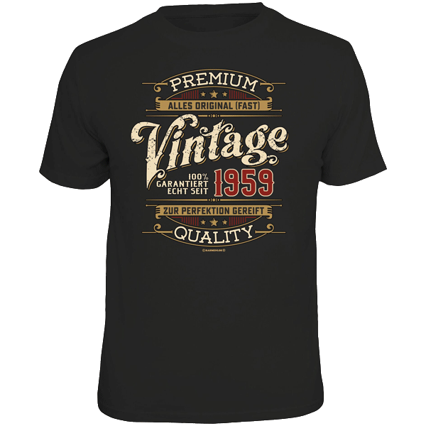 "T-Shirt ""Vintage - 1959"""