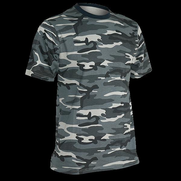 T-Shirt Dark Camo