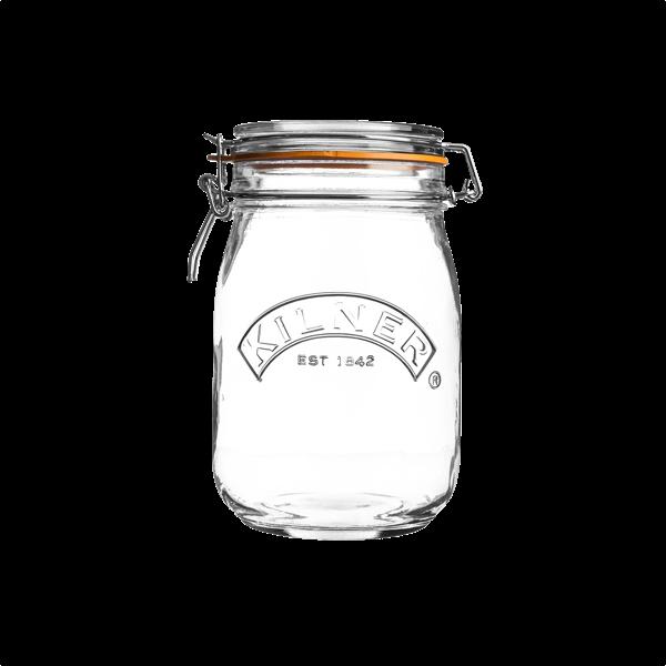 """Aufbewahrungsglas """"Round Clip Top Jar"""" in 4 Größen"""