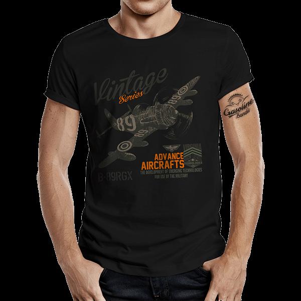"""T-Shirt """"Airborne Racing"""" von Gasoline Bandit"""