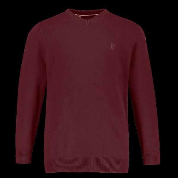 Feinstrick-V-Pullover von JP1880
