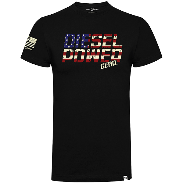 "Diesel Power Gear T-Shirt ""Freedom"""