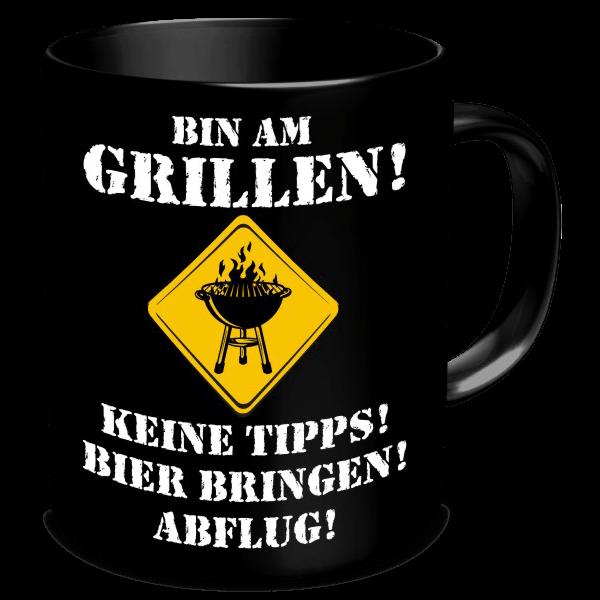 """Tasse """"Bin am Grillen!"""""""
