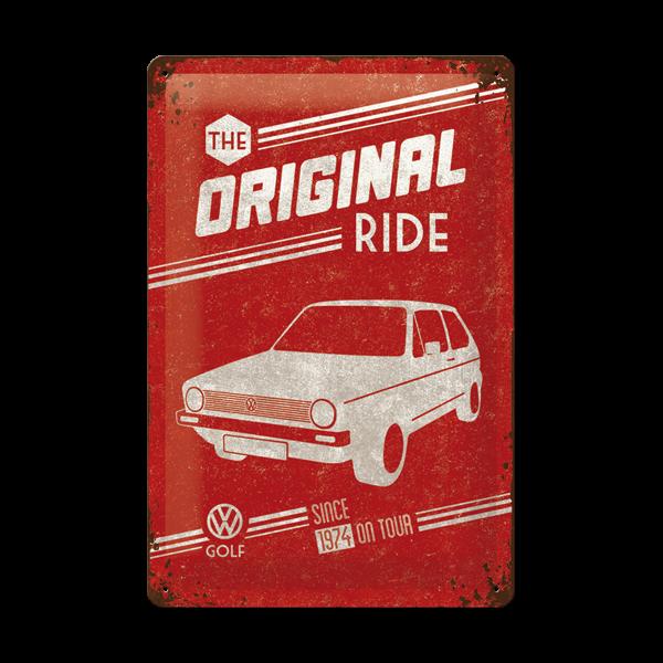 """Blechschild """"The Original Ride"""" 20 x 30 cm"""