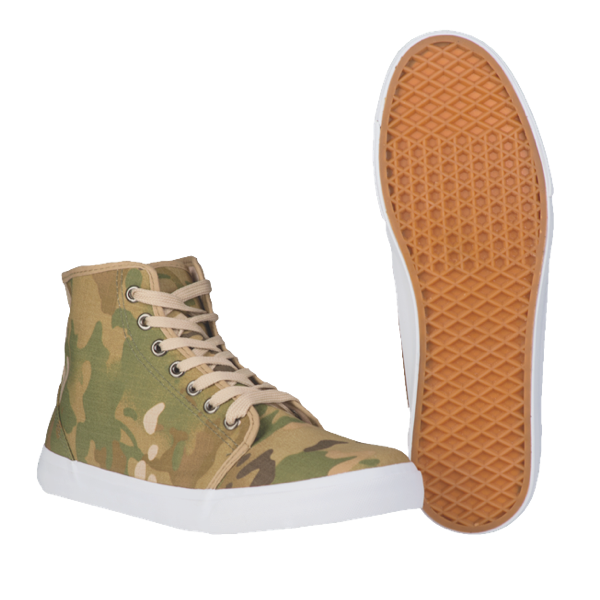 Sneaker im Army-Style