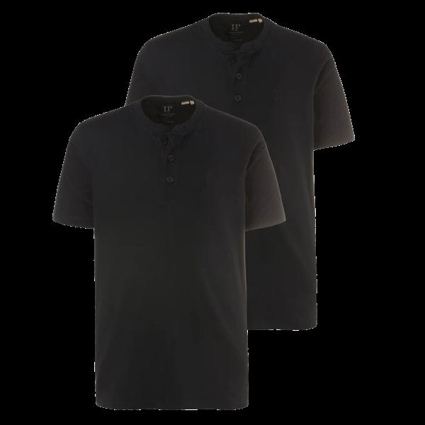Henley T-Shirt (2er-Pack) von JP1880