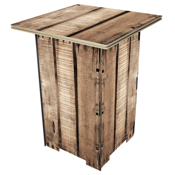 """Säulentisch """"Holz"""""""