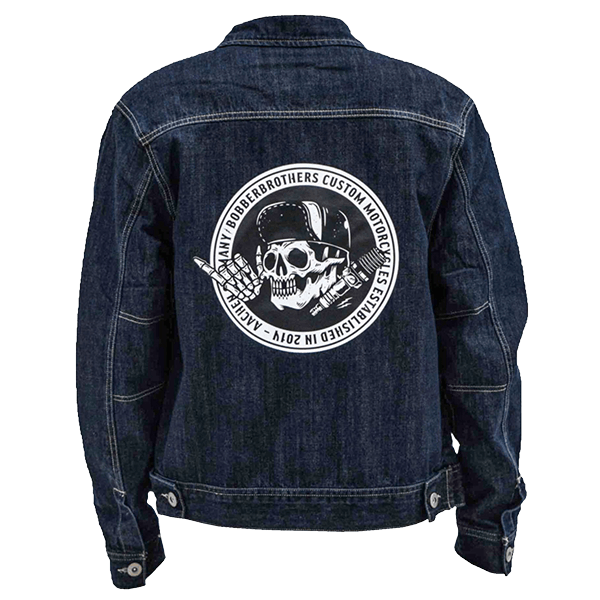"Großes Patch ""Round Back"" von Bobber Brothers"