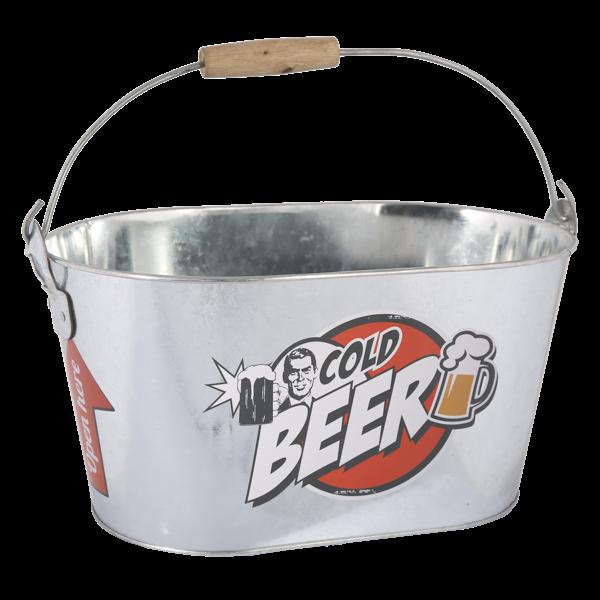 """Metalleimer """"Cold Beer"""""""