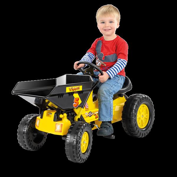 Tretkippwagen für Kinder