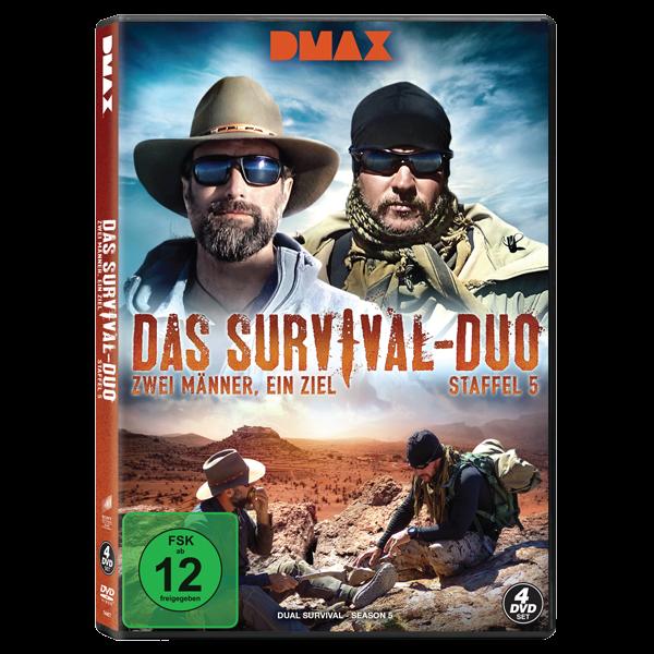 Das Survival-Duo - Zwei Männer, ein Ziel - Staffel 5 (4 Discs (DMAX))