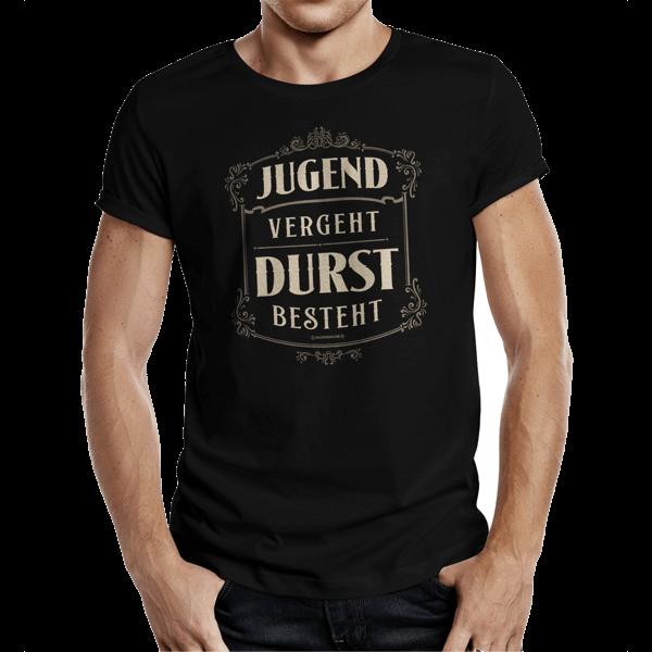 "T-Shirt ""Jugend vergeht – Durst besteht"""