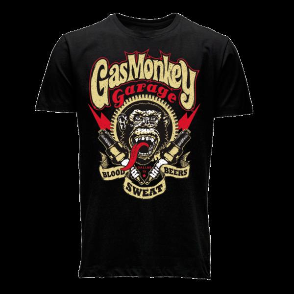 """Gas Monkey Garage T-Shirt """"Spark Plug"""" (Größe S)"""