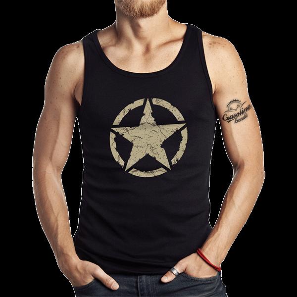 """Tank Top """"US-Army Star"""" von Gasoline Bandit"""
