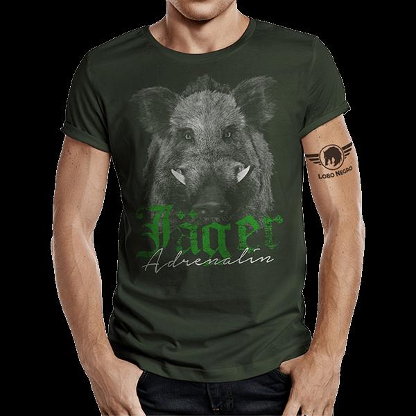 "T-Shirt ""Jäger Adrenalin"""