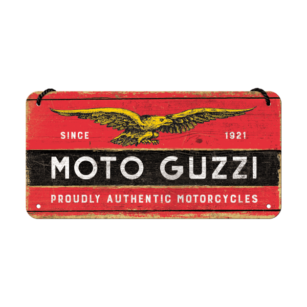 "Hängeschild ""Moto Guzzi"""