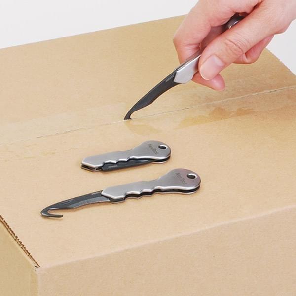 Schlüsselanhänger mit Hakenklinge