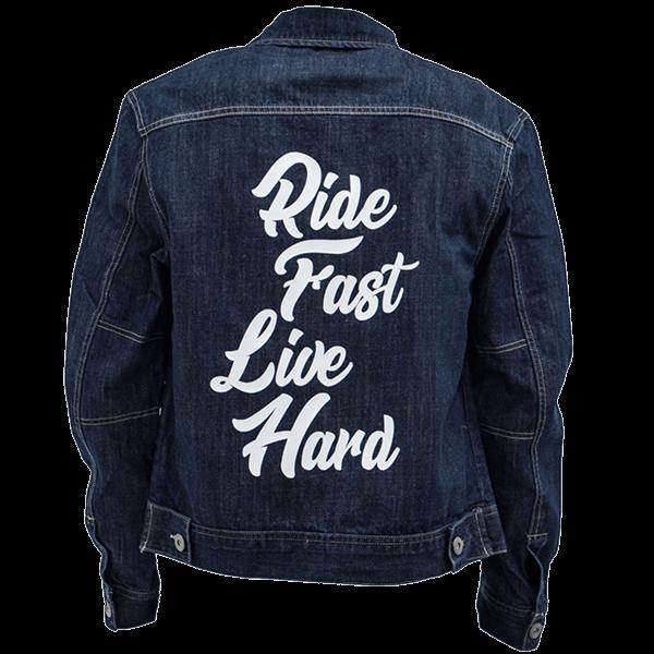 "Jeansjacke ""Ride Fast"" von Bobber Brothers"