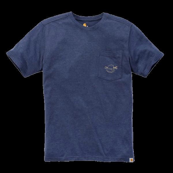 Carhartt T-Shirt mit Brusttasche