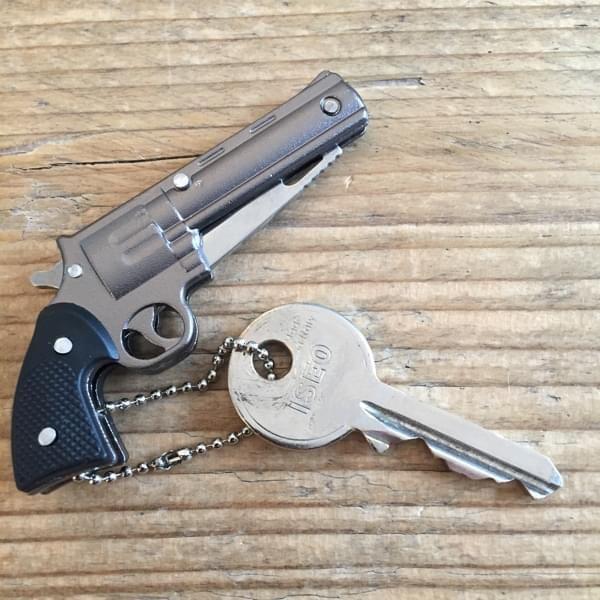 """Schlüsselanhänger """"Revolvertaschenmesser"""""""