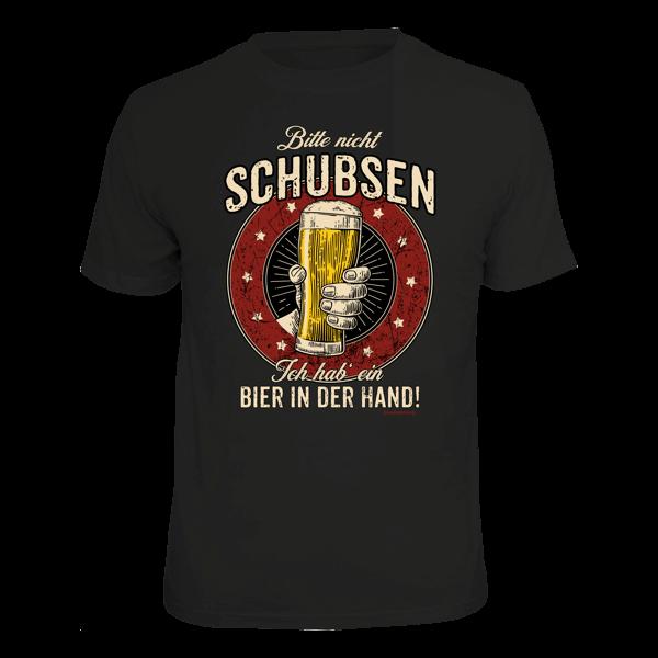 """T-Shirt """"Bitte nicht schubsen"""""""