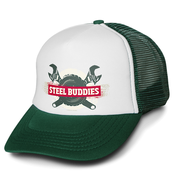 "Steel Buddies Trucker-Cap ""Logo"""