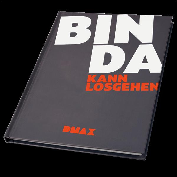 "DMAX Notizbuch ""Bin da - kann los gehen"""