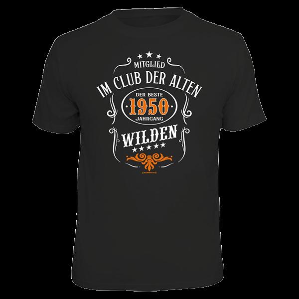 """T-Shirt """"1950 - der beste Jahrgang"""""""