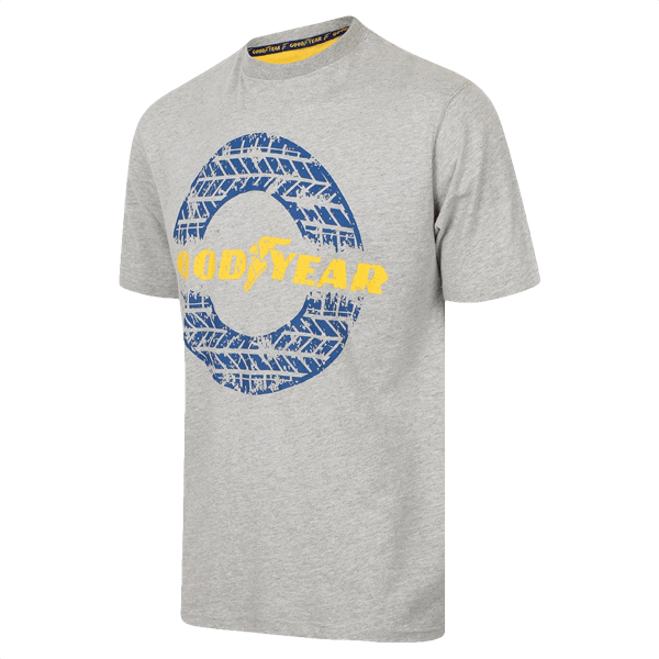"Goodyear T-Shirt ""Reifenspur"""