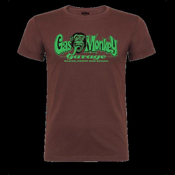 "Gas Monkey Garage T-Shirt ""GM Logo"""