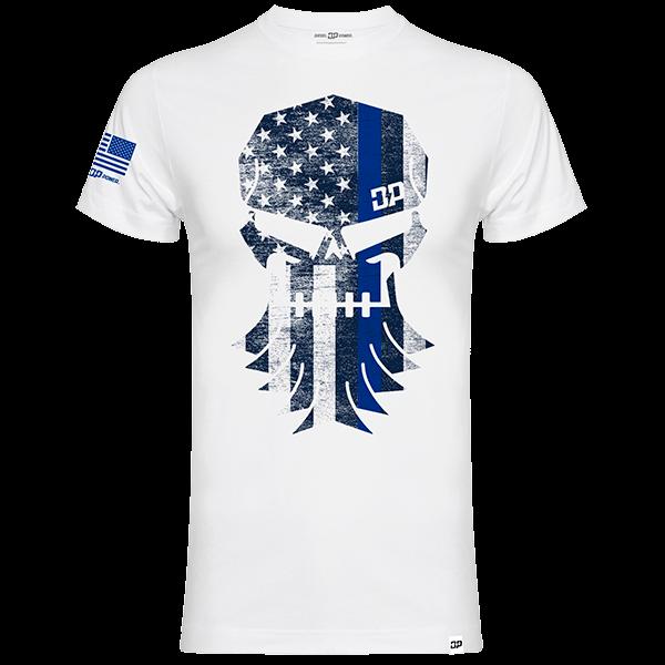 "Diesel Power Gear T-Shirt ""DP Skull"""