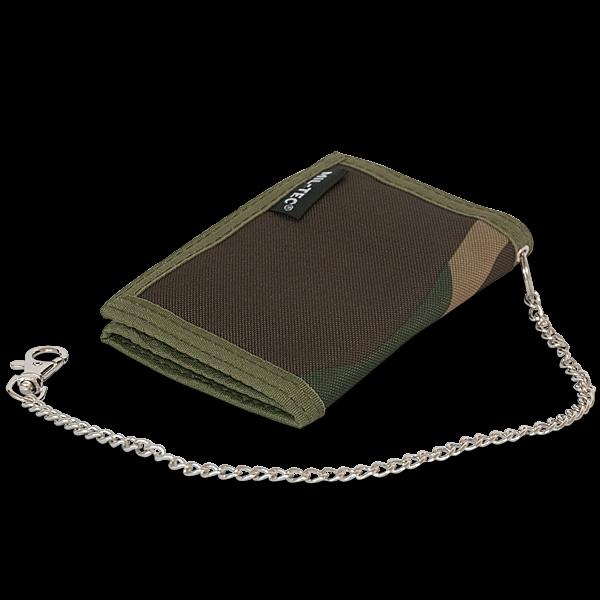 """Geldbörse """"Camouflage"""" mit Sicherungskette"""