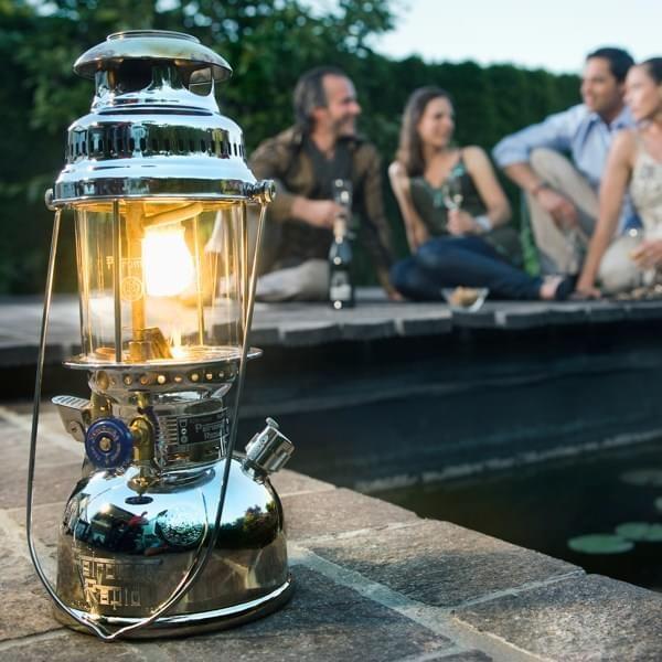 Petromax Starklichtlampe HK500 verchromt