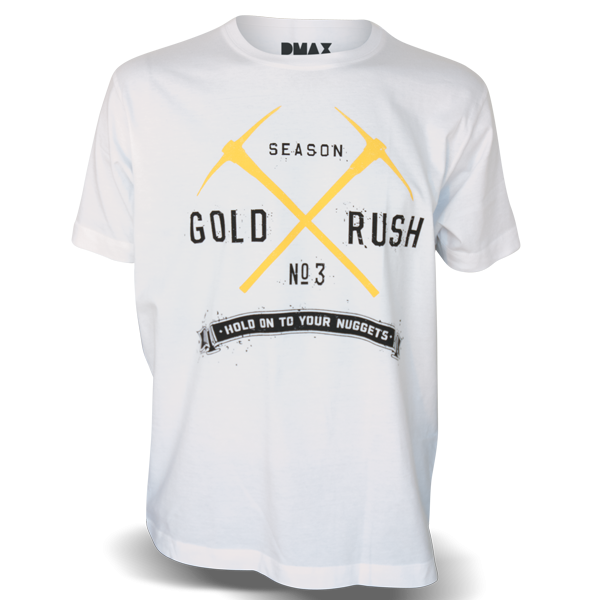"Gold Rush T-Shirt ""No. 3"""