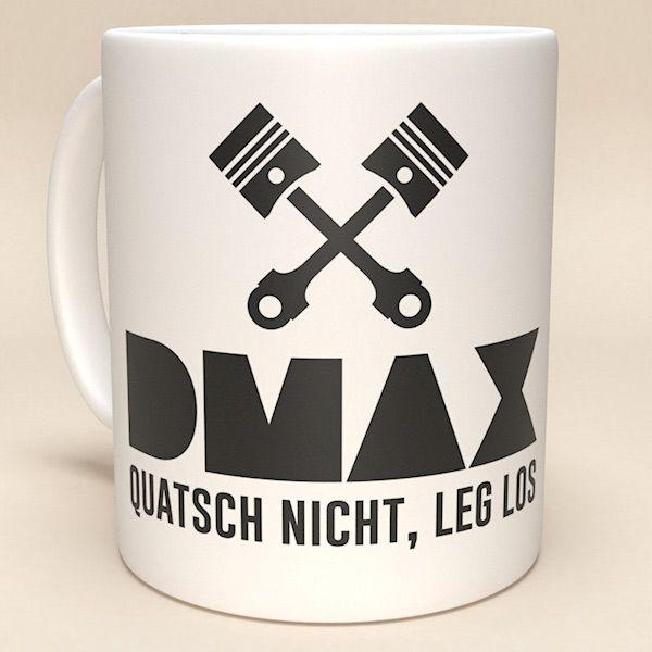 """DMAX Tasse """"Sprücheklopfer"""""""