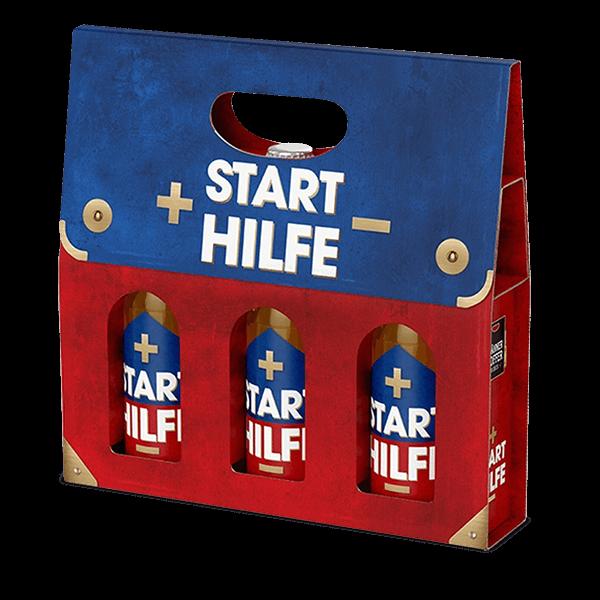 """Männerkoffer """"Starthilfe"""" (3 Bierflaschen im Tragerl)"""