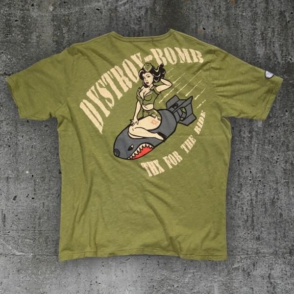 """T-Shirt """"Special Delivery"""" oliv (bis XXXL)"""
