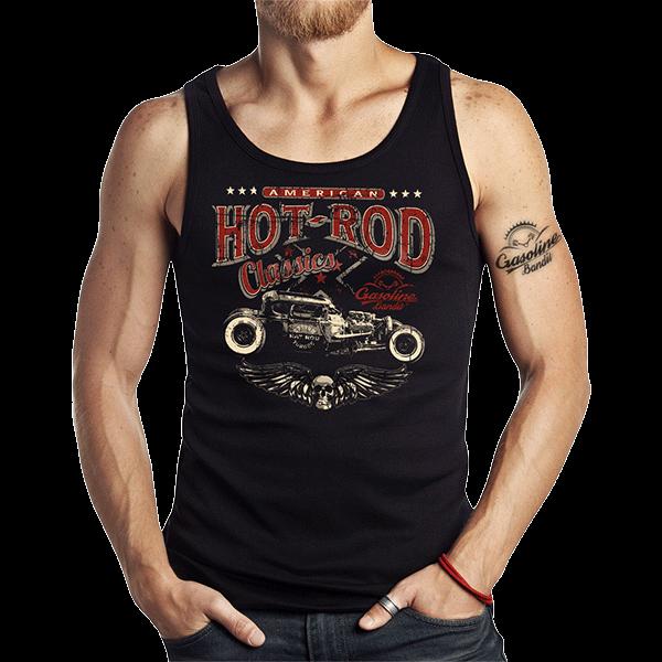 """Tank Top """"Hot Rod Racer"""" von Gasoline Bandit"""