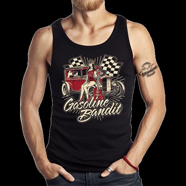 """Tank Top """"Guitar Pinup"""" von Gasoline Bandit"""