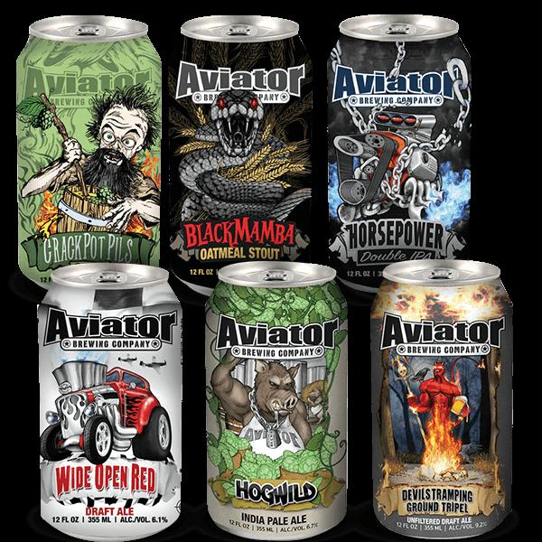 Amerikanisches Craft Beer Set – Aviator Brewing