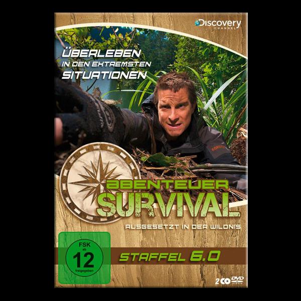 """DVD """"Abenteuer Survival - Staffel 6.0"""""""