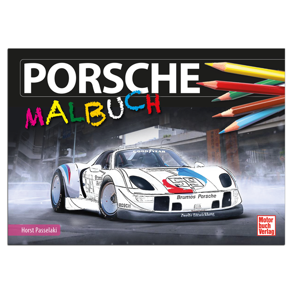 """Malbuch """"Porsche"""""""