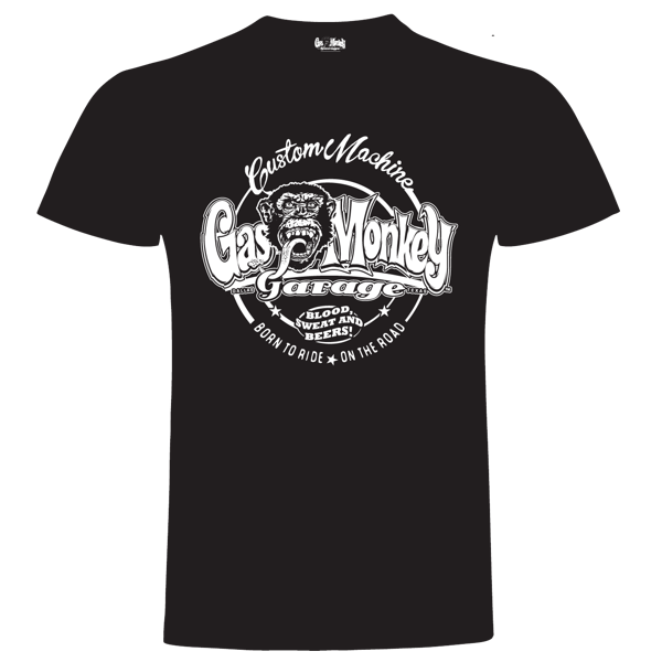 "Gas Monkey T-Shirt ""OG Custom Machine"" (Größe L)"