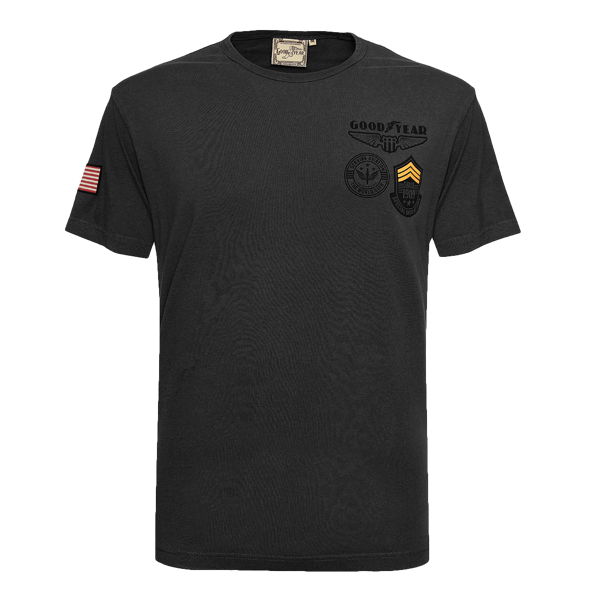 "Goodyear T-Shirt ""Badges"""