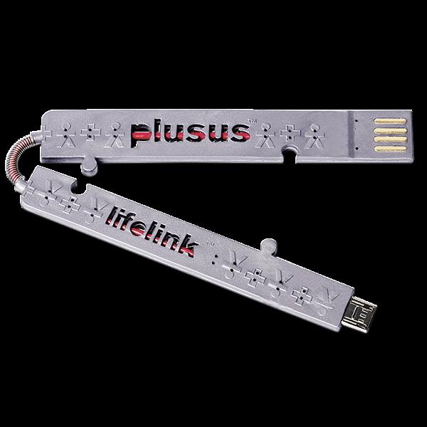 Kreditkarten Ladekabel mit Micro-USB-Anschluss