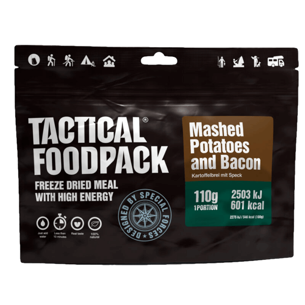 """Tactical Foodpack """"Kartoffelbrei mit Speck"""""""