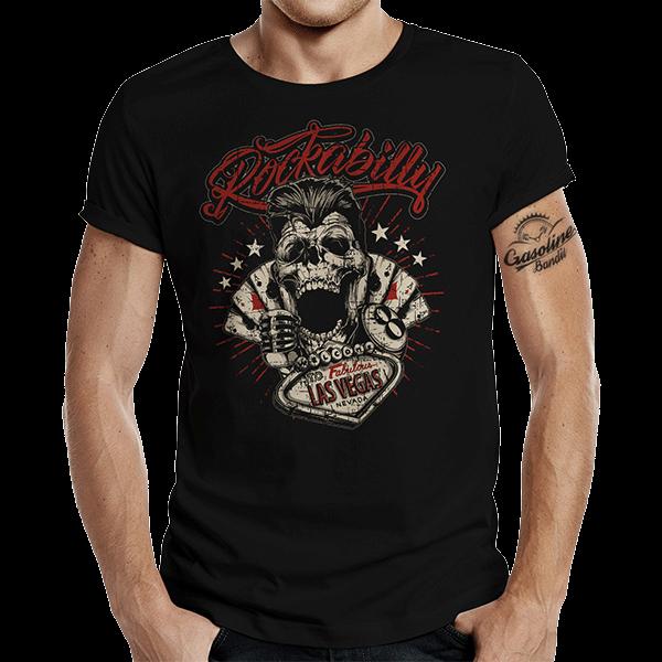 "T-Shirt ""Las Vegas"" von Gasoline Bandit"