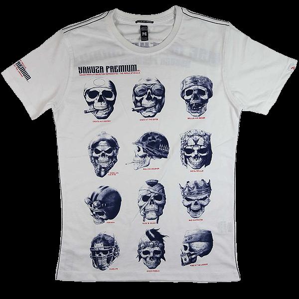 """Yakuza Premium T-Shirt """"Skulls"""""""
